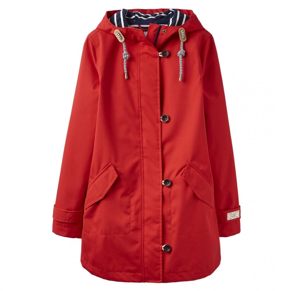 daa0495cc Joules Coastmid Womens Mid Length Waterproof Jacket S/S 19 - Womens ...