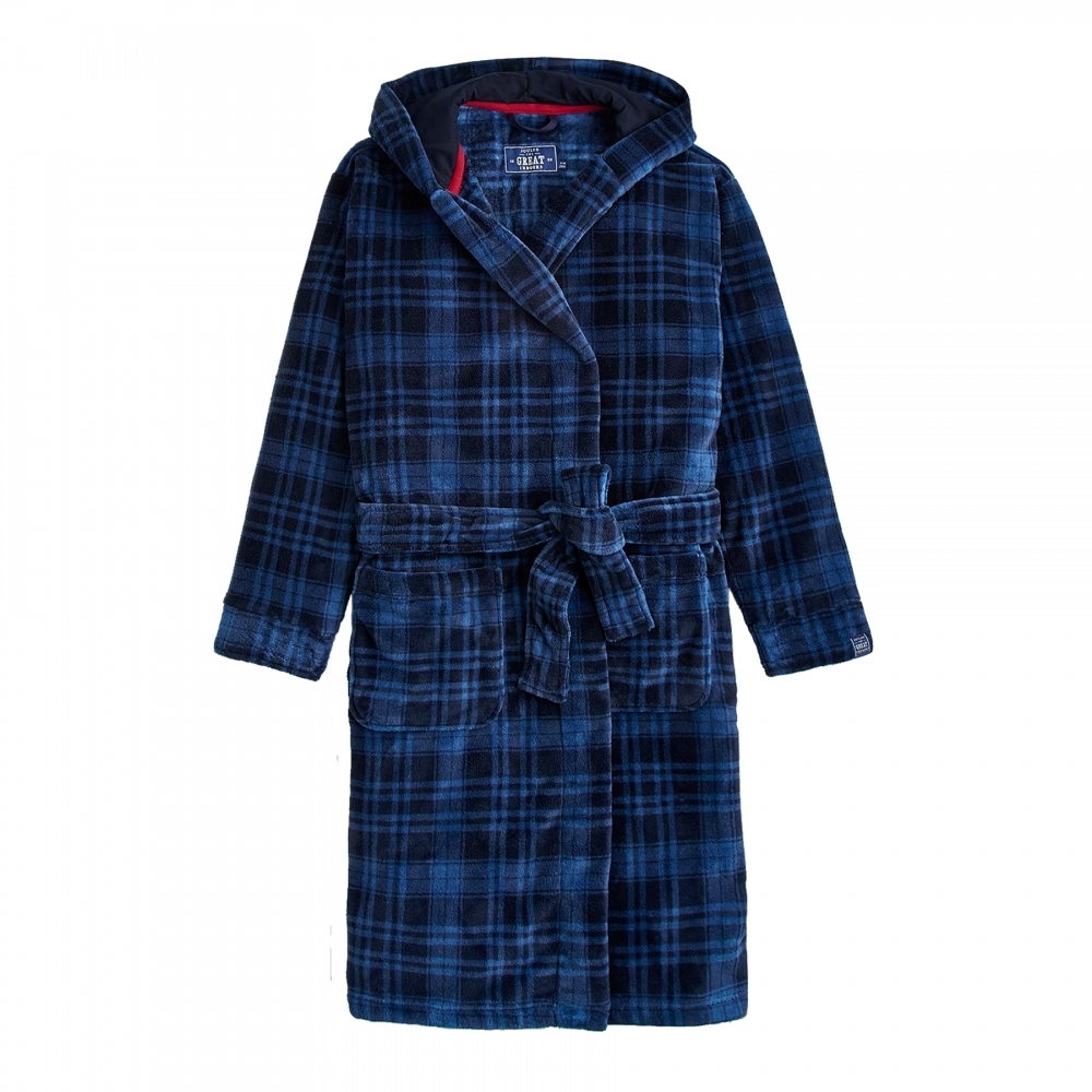 Joules Cosy Time Mens Dressing Gown (X) - Mens from CHO Fashion ...