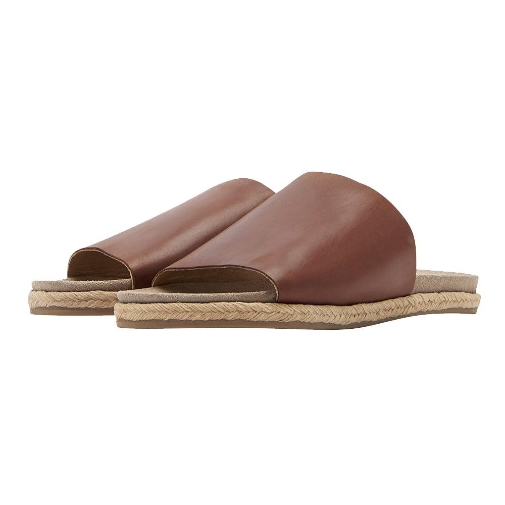 Joules Faraway Molded Leder Molded Faraway Damenschuhe Slide Sandale (Y) Footwear ... 7f9352