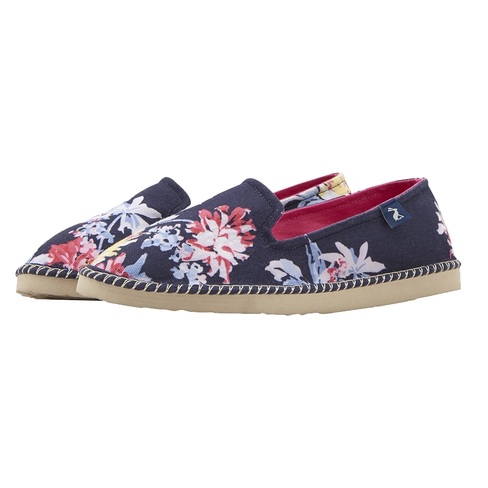 **FREE UK Shipping** Joules Flipadrille Canvas Pumps Shoes W