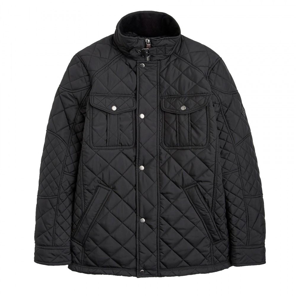 Joules Holmwood Biker Quilted Mens Jacket X Mens From