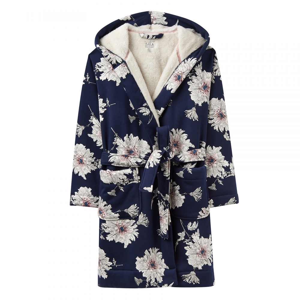 Joules Idlewhile Fluffy Womens Dressing Gown (X) - Womens from CHO ...