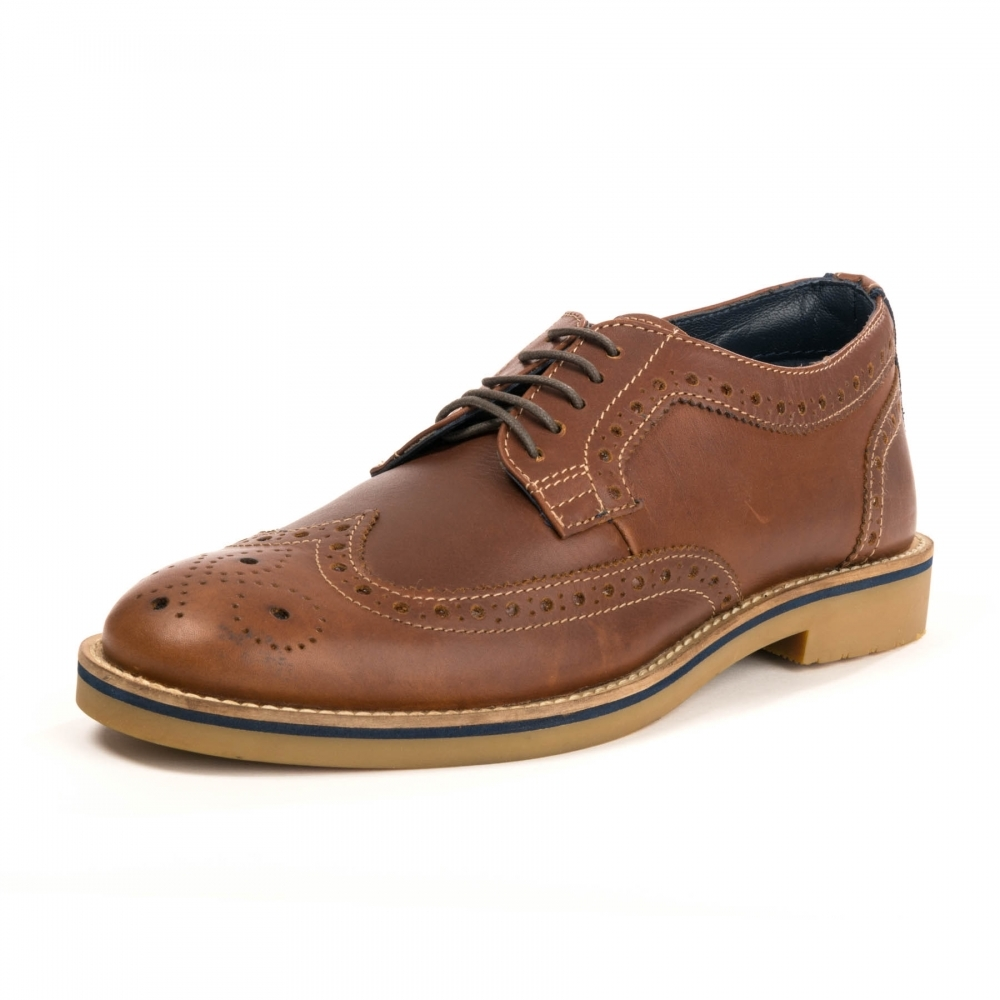 69f18e0f2c584 Joules Keel Mens Brogue Shoe - Mens from CHO Fashion and Lifestyle UK