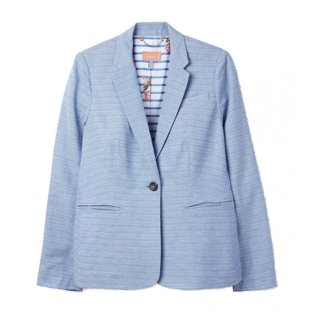 60a910e290cc Joules Leonie Womens Linen Blazer S/S 19 - Womens from CHO Fashion ...