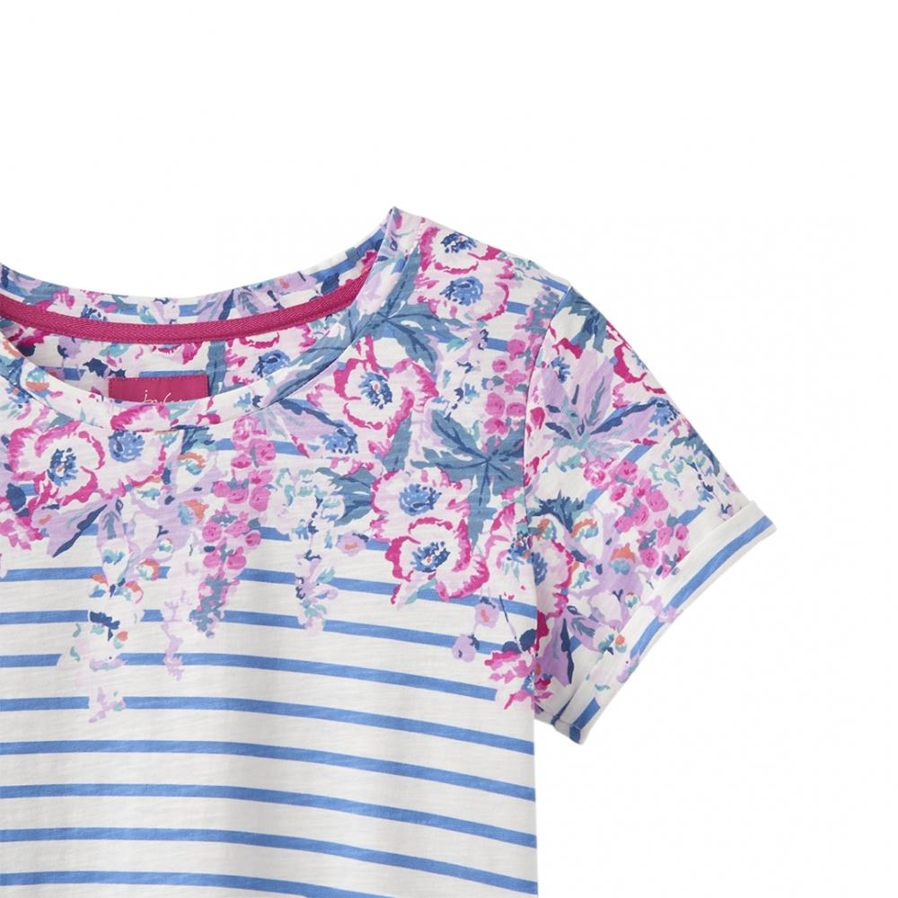edae778b Joules Nessa Print Womens Lightweight Jersey T-Shirt S/S 19