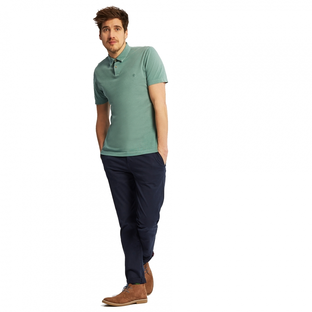 99bf89fb73061 Joules Palmer Garment Dyed Relaxed Fit Mens Polo (Y) - Mens from CHO ...