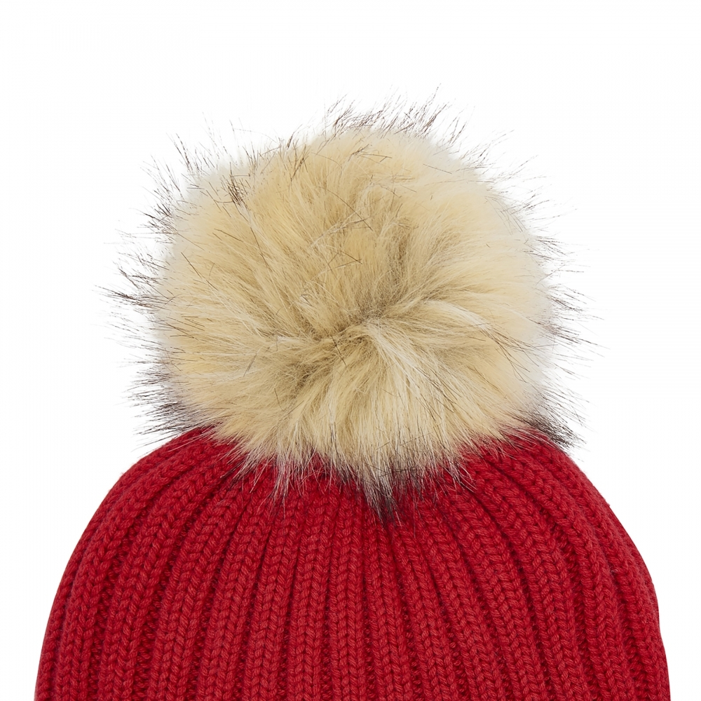 2fa30a6e881 Joules Popper Pom Womens Hat (X) - Valentines Day Gifts For Her from ...