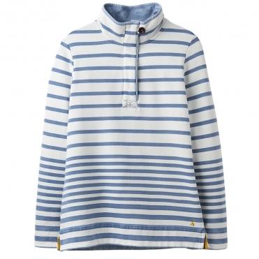 7d57872f6a Joules Sauntonsalt Womens Saltwash High Neck Sweatshirt With Pockets S/S 19