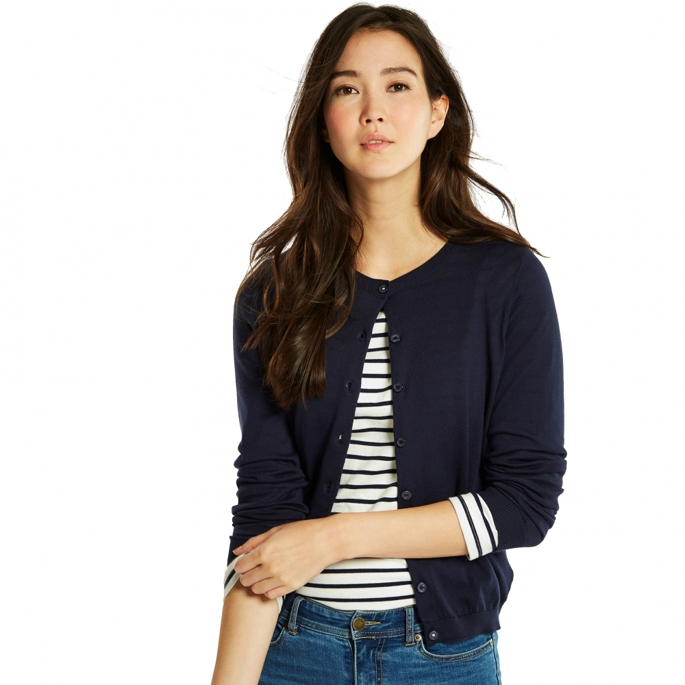 Joules Skye Button Front Knitted Womens Cardigan (Y) - Womens from ... 65587cf4e