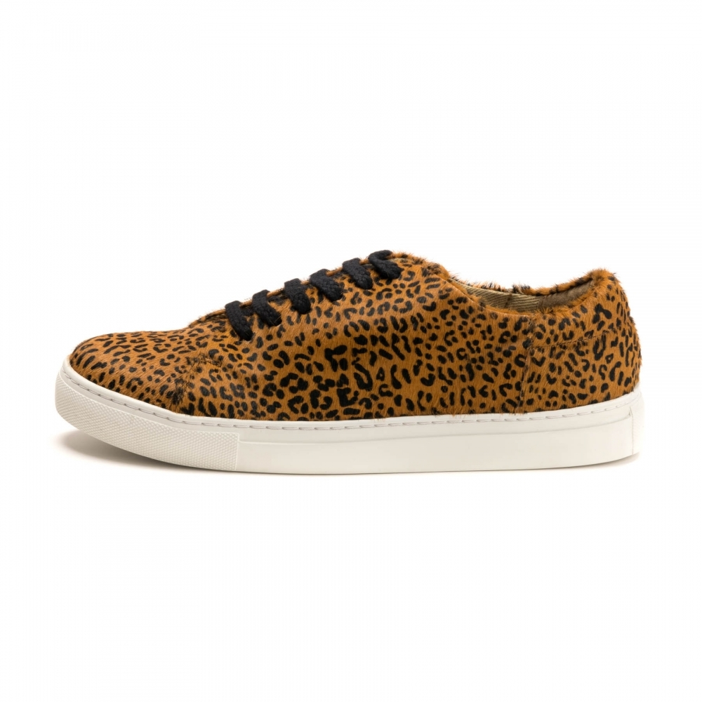 Joules Solena Leather Cupsole Trainer