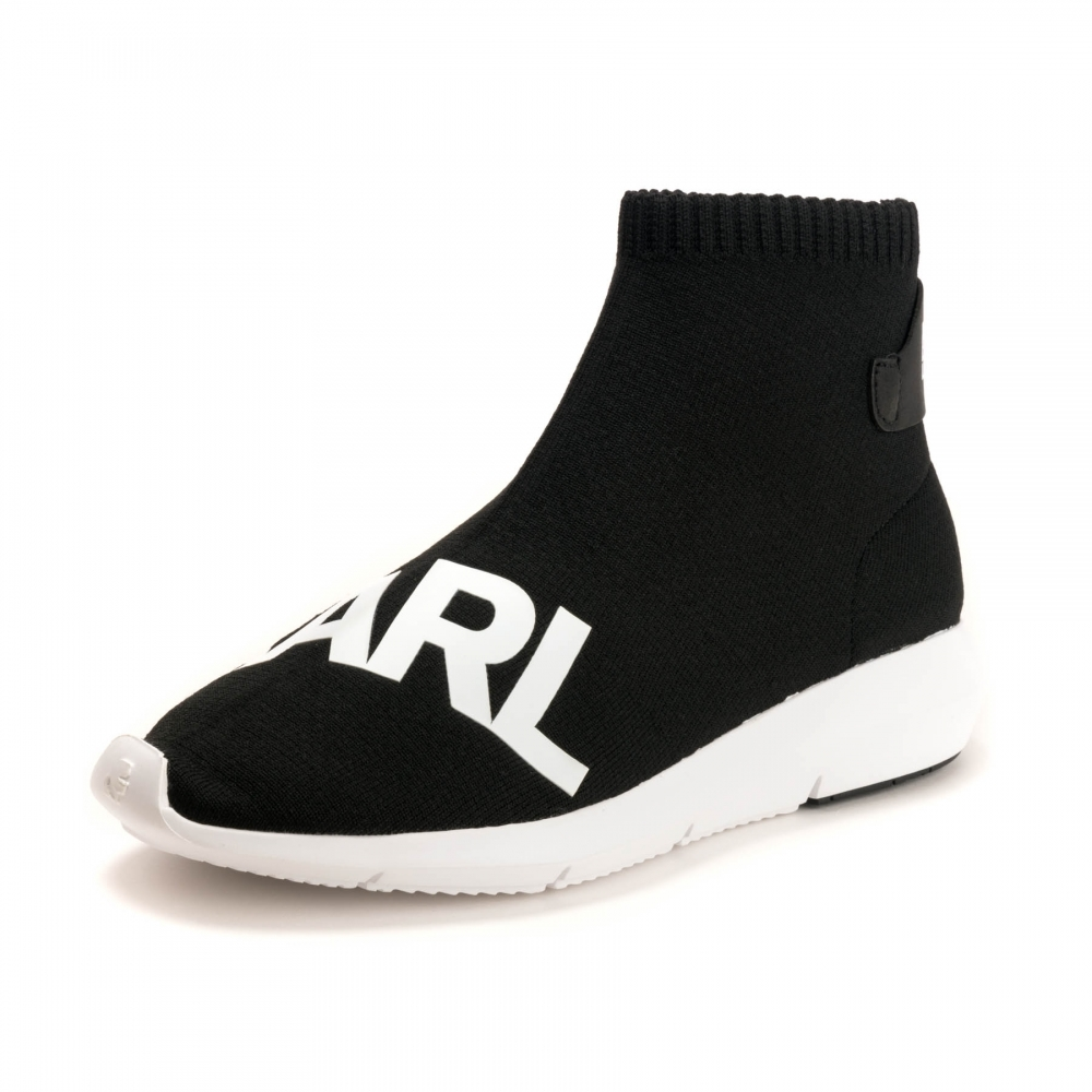 18e373092a6f Karl Lagerfeld Vitesse Legere Knit Womens Trainer - Footwear from ...