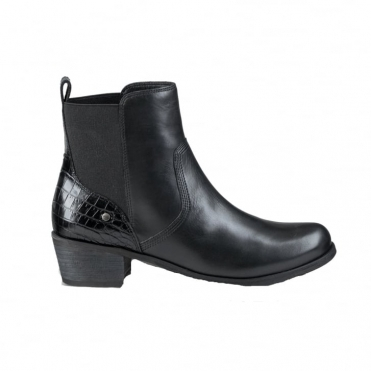 Keller Croco Ladies Chelsea Boot