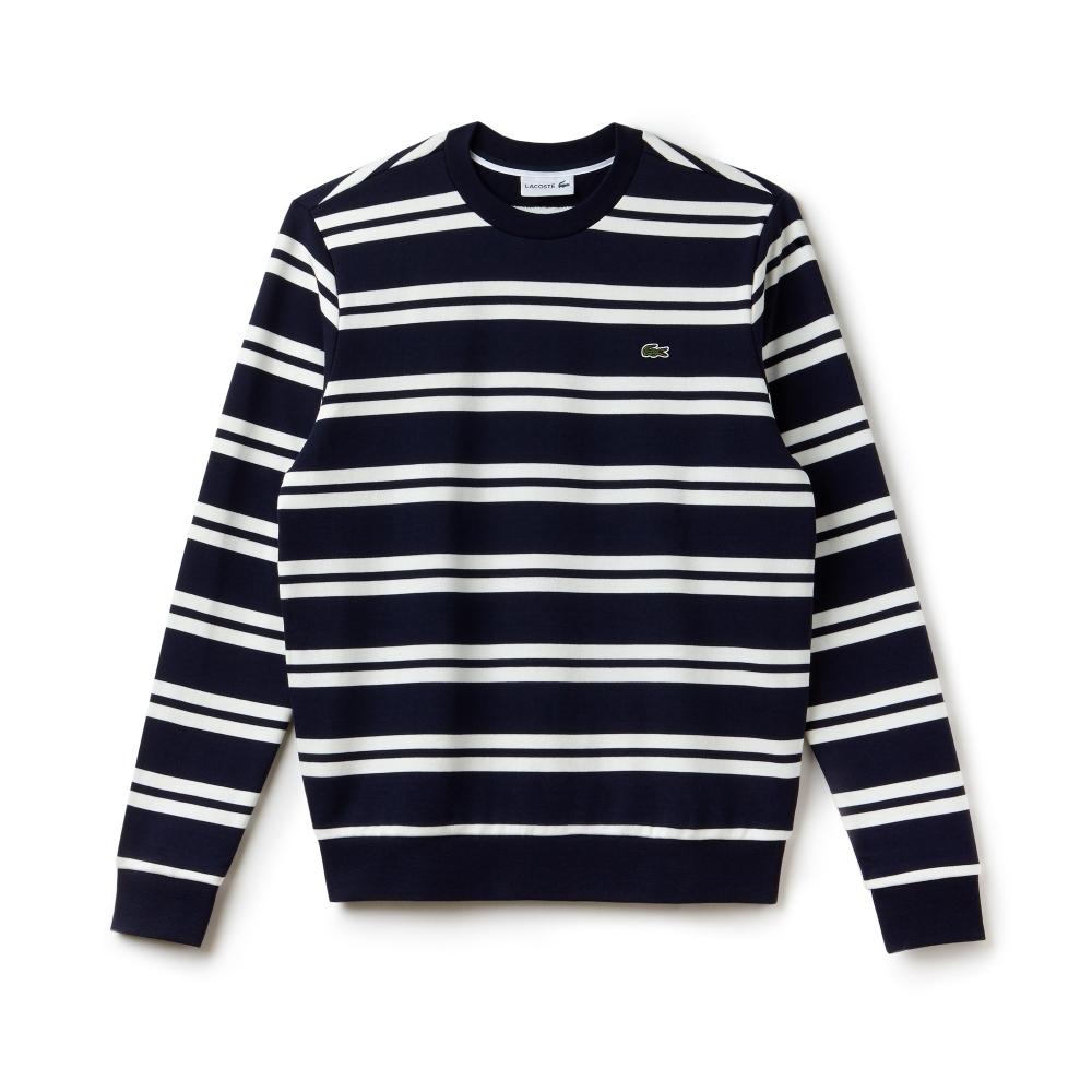 oficjalne zdjęcia 2018 buty delikatne kolory Non Brushed Fleece Striped Mens Sweatshirt