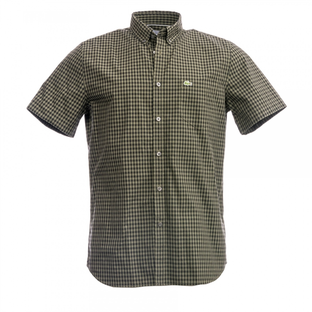 3d199a34fb0 Lacoste Short Sleeved Casual BD Mens Shirt - Mens from CHO Fashion and  Lifestyle UK