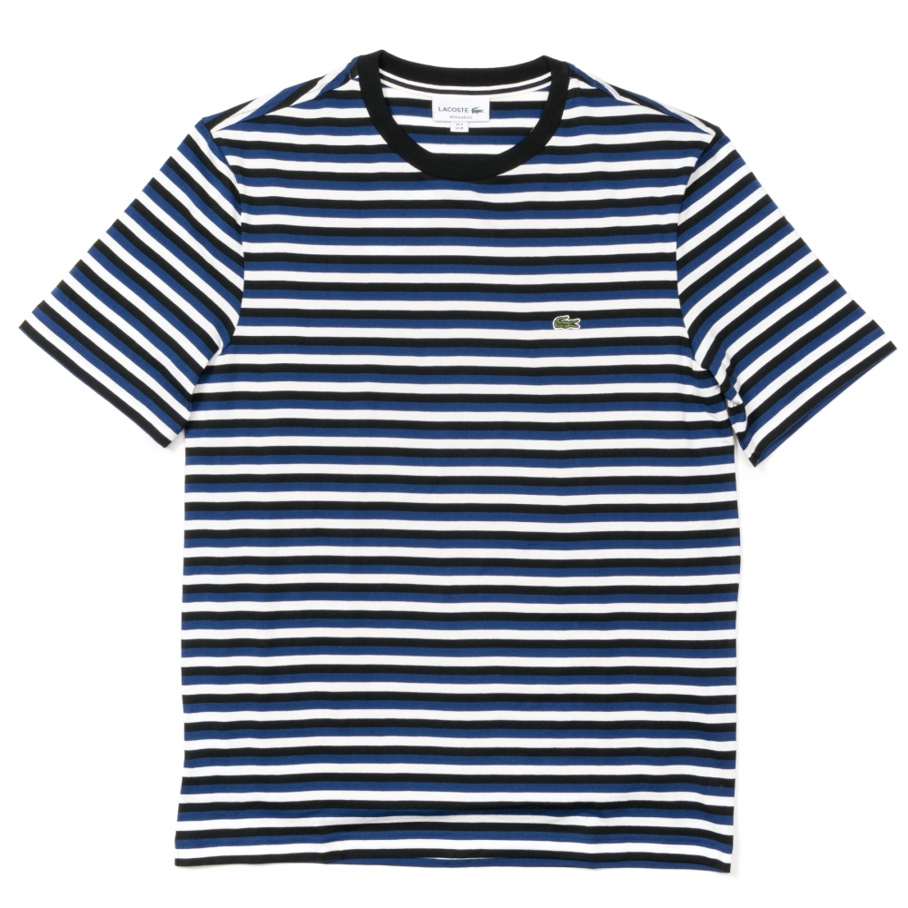 38f0e37ee4f Lacoste Striped Jersey Cotton Mens T-Shirt - Mens from CHO Fashion ...