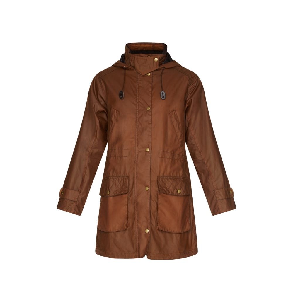 Womens Wax Jackets If you are looking for a tough, reliable and durable jacket, then give our ladies waxed jackets a try. Wax jackets have been designed to give you many years of enjoyment and are perfect for horse riders and farmers as the material is tough and won't tear easily.