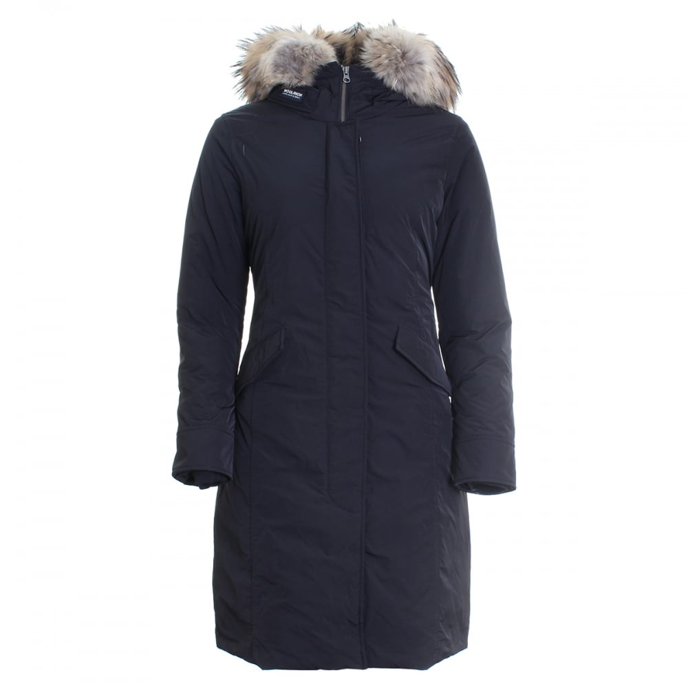 woolrich luxury long arctic ladies parka womens from cho fashion and lifestyle uk. Black Bedroom Furniture Sets. Home Design Ideas