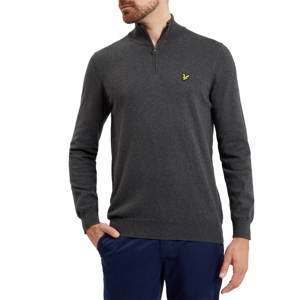 876e268633d Lyle   Scott 1 4 Zip Mens Cotton Merino Jumper - Mens from CHO Fashion and  Lifestyle UK