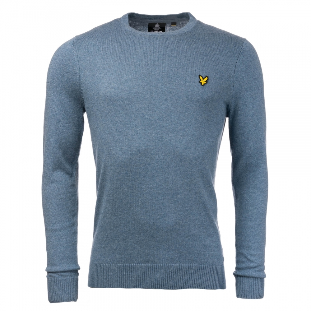 1020e29d5c63 Lyle & Scott Cotton Merino Mens Crew Jumper - Valentines Day Gifts ...