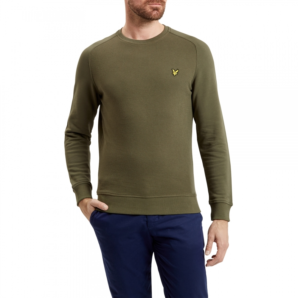 Lyle & Scott Honeycomb Mens Sweatshirt