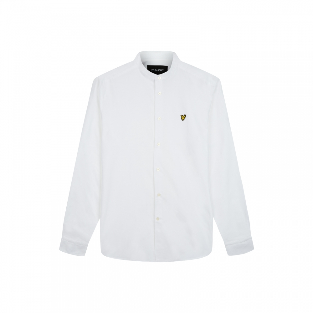 39e46fed5cb5 Lyle & Scott Mens Grandad Collar Shirt - Valentines Day Gifts For ...
