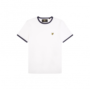c950975942 Lyle & Scott Mens Ringer T-Shirt