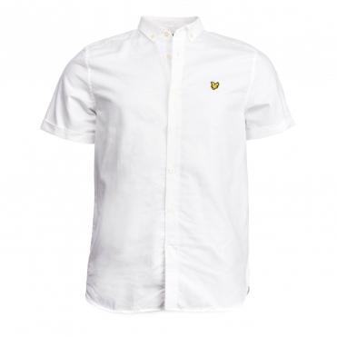 1cfd43f3d3 Lyle & Scott Mens SS Oxford Shirt