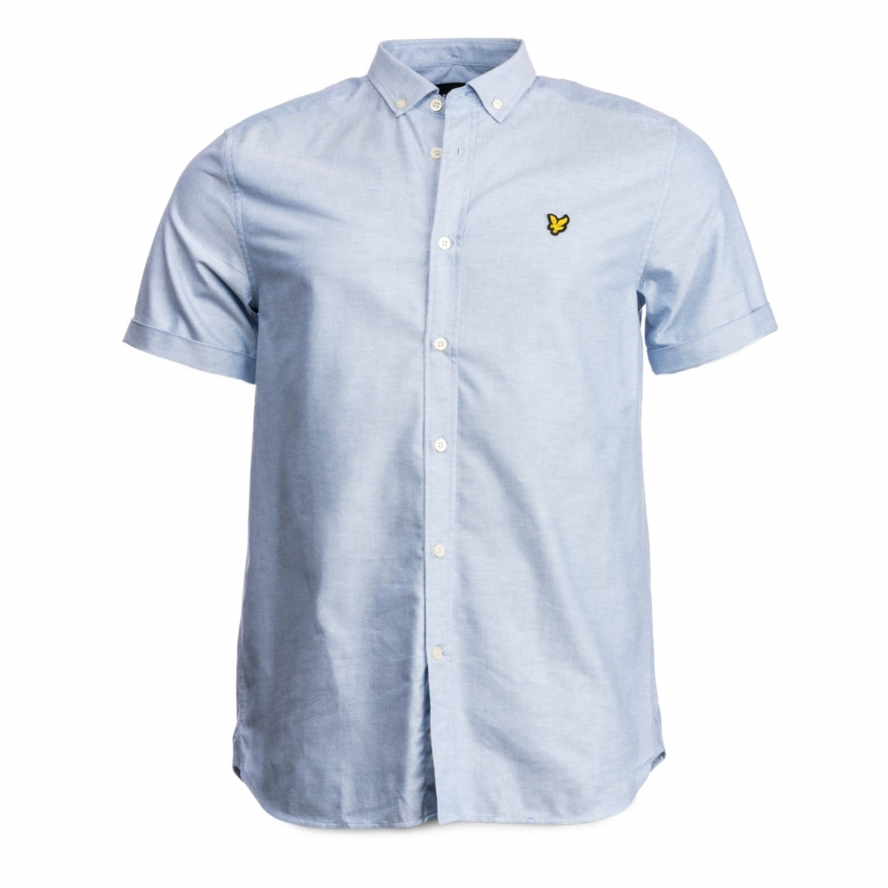 Lyle /& Scott Mens SS Oxford Shirt