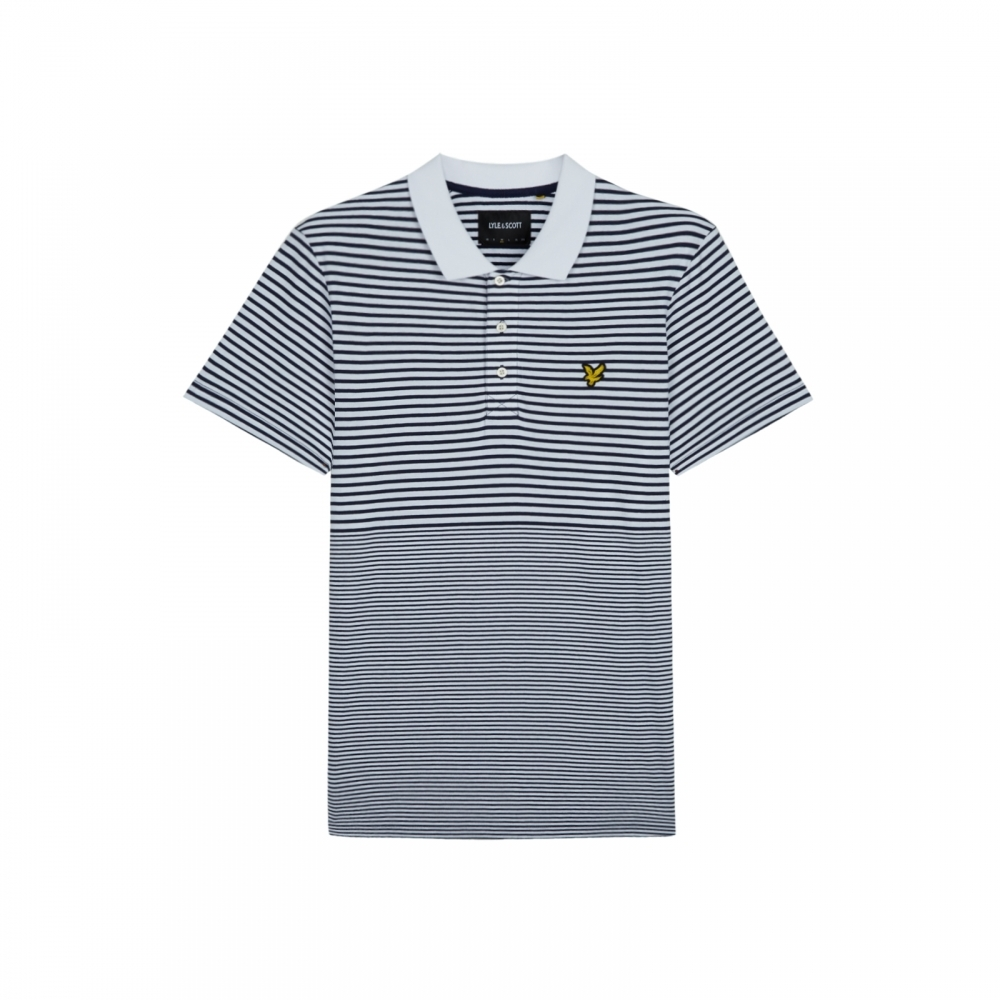 a9d638356c9e Lyle & Scott Mens Stripe Polo Shirt - Father's Day Gift Guide from ...