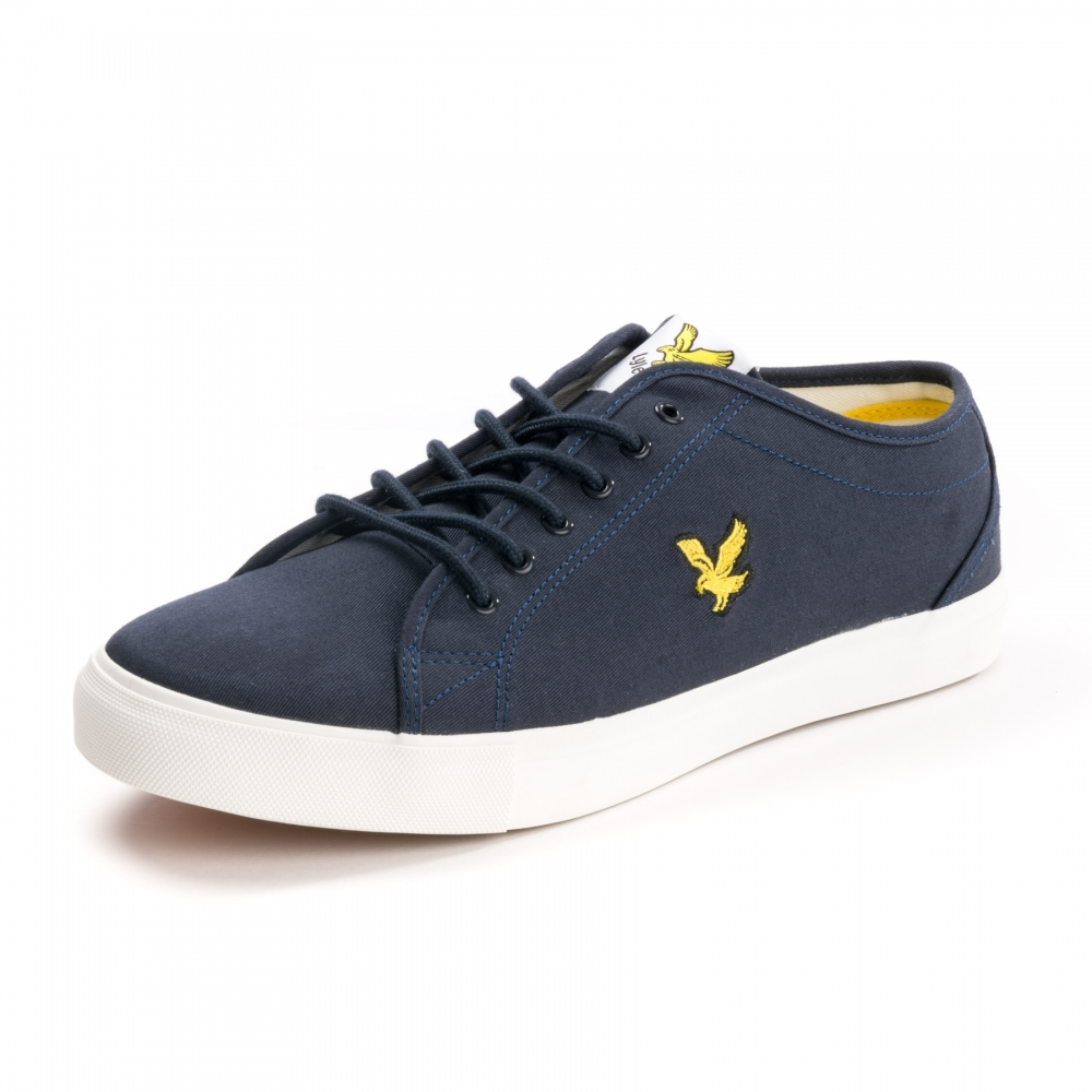 3ed6fc253e4 Lyle   Scott Teviot Canvas Mens Plimsolls - Footwear from CHO ...