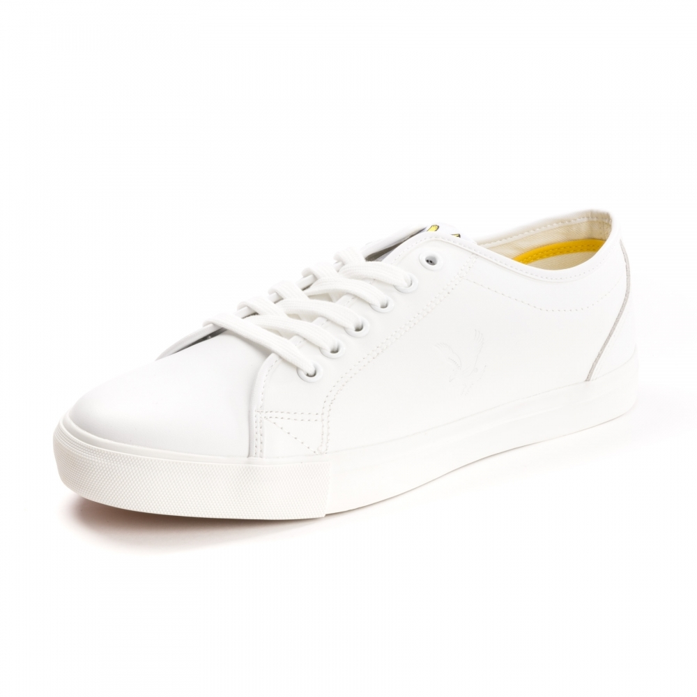 168f73a8f7e Lyle   Scott Teviot Leather Mens Plimsolls - Footwear from CHO ...