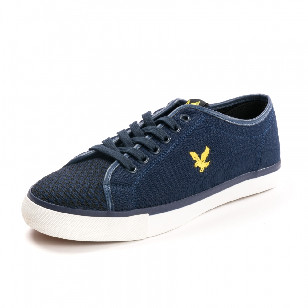 ef3007493d8 Lyle   Scott Teviot Mens Knit Plimsolls - Footwear from CHO Fashion ...