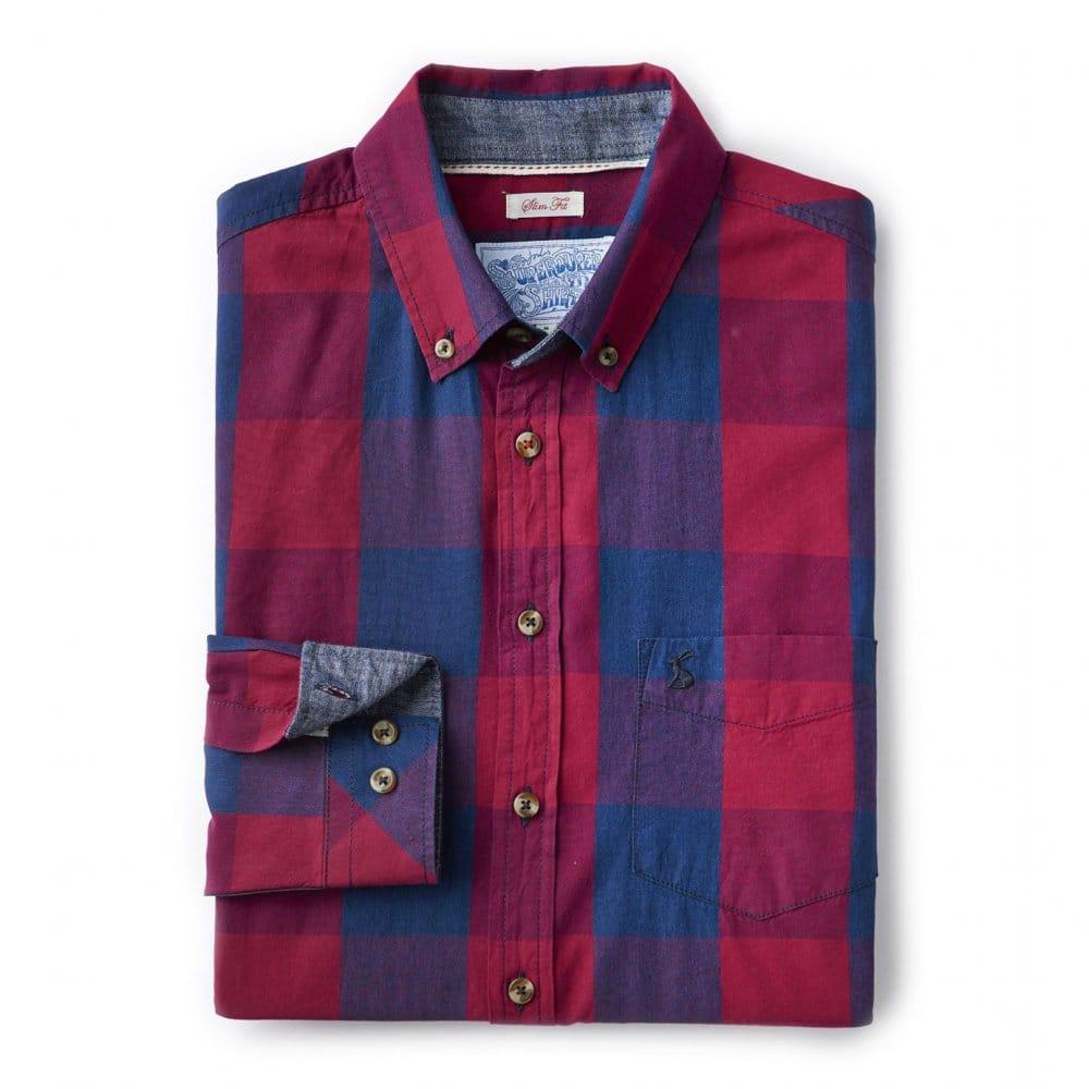 Joules Lyndhurst Check Mens Slim Fit Shirt (T)