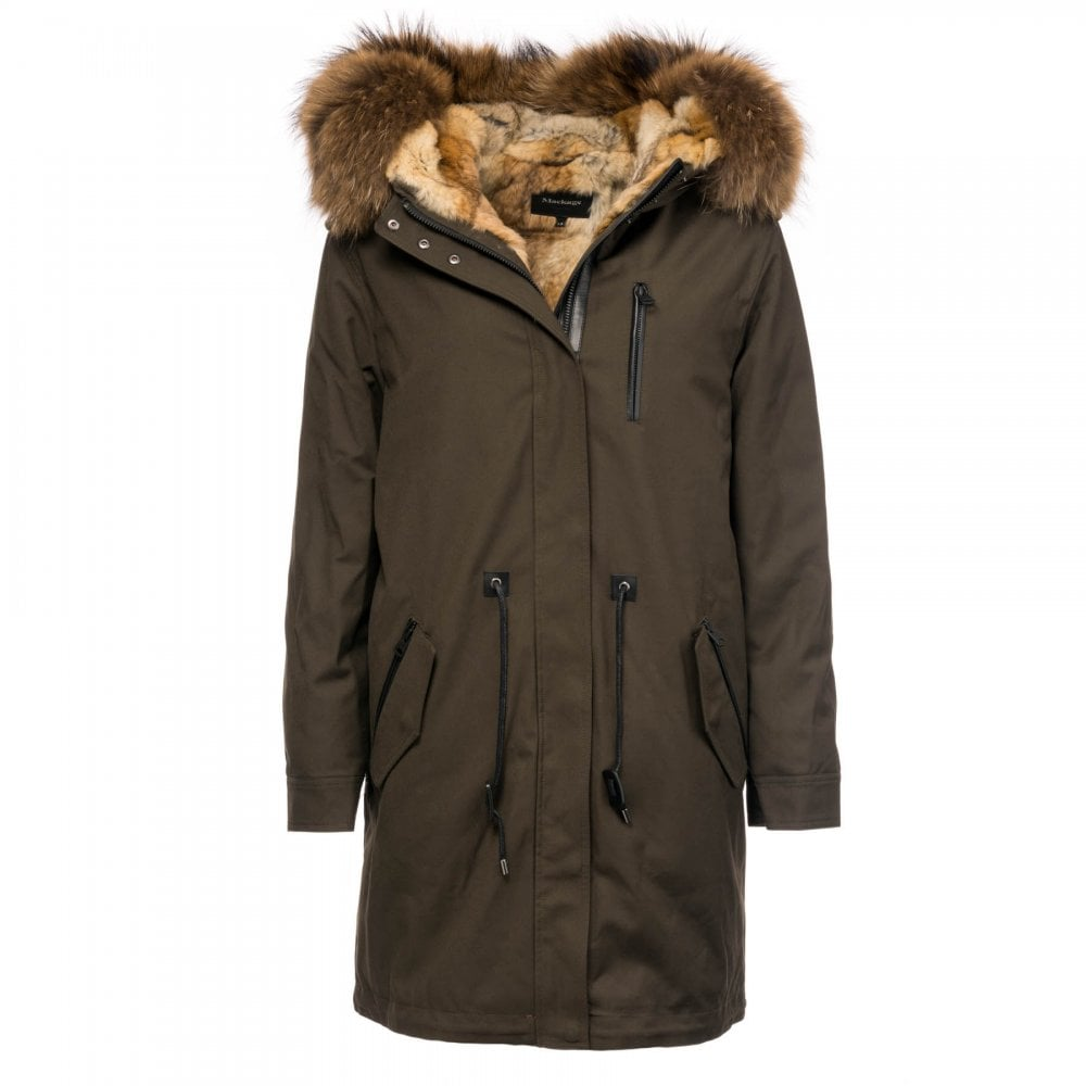 0a521b943ec Rena-F Long Down Womens Parka