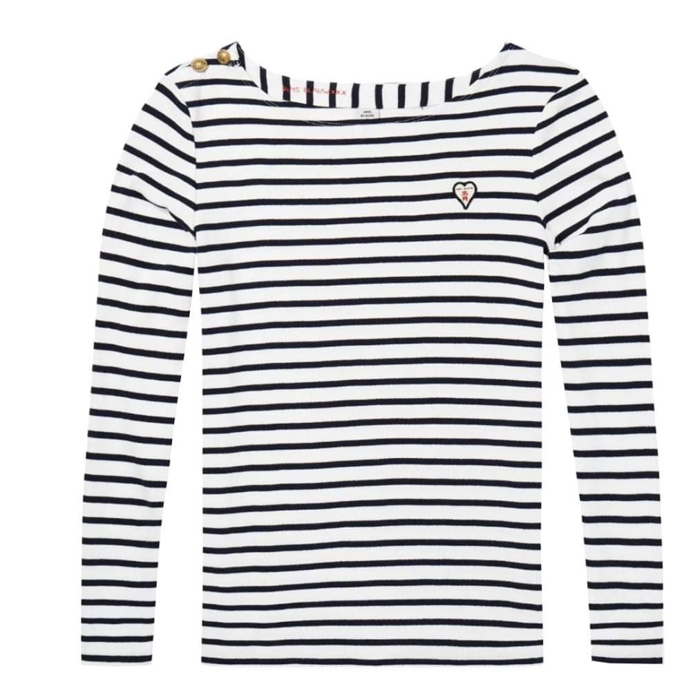 4b6c7df738 Maison Scotch Classic Breton Womens Tee - Womens from CHO Fashion ...