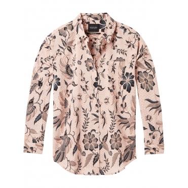 03f108ed4ac Maison Scotch Relaxed Fit Drop Shoulder Cotton Viscose Button up Womens Top