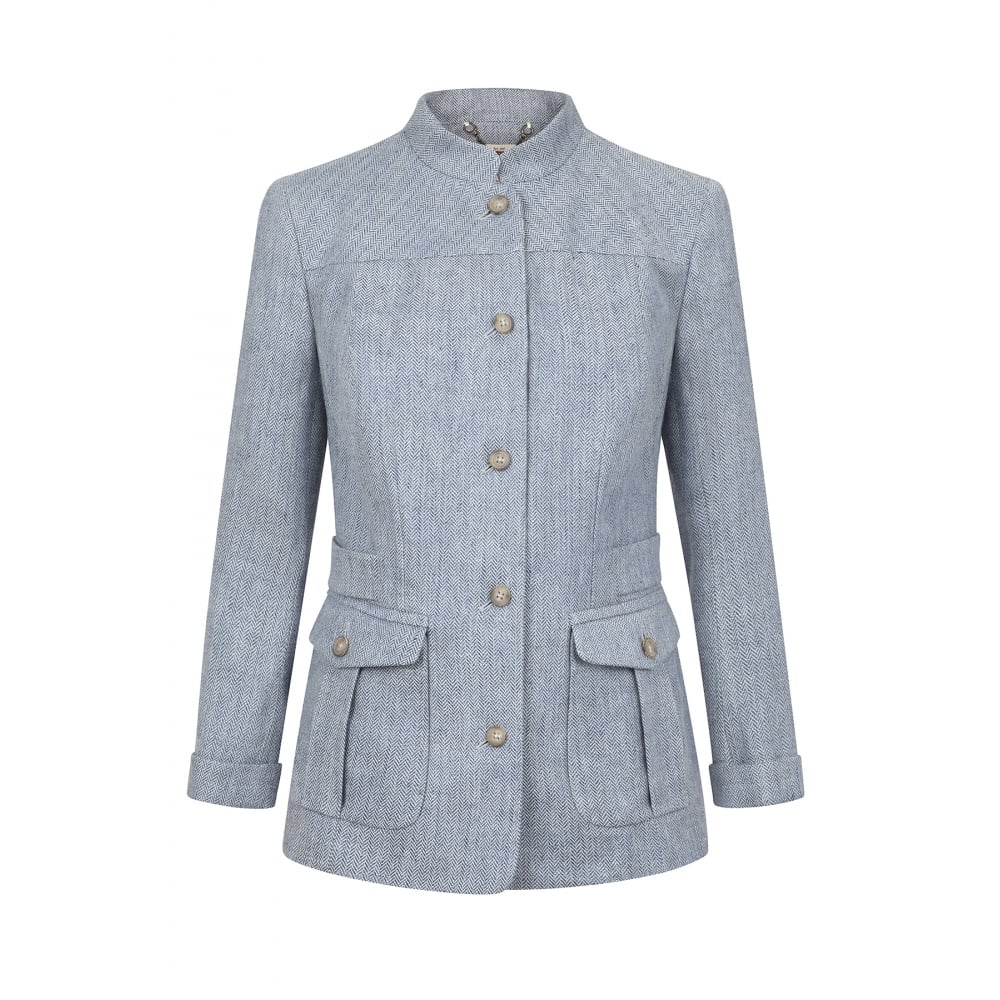 Our new linen jacket is stylishly updated with a peplum hem and subtle shirring for an ultra-flattering, feminine look. Crafted with soft linen and fully lined, it is the perfect layering piece you will want to .