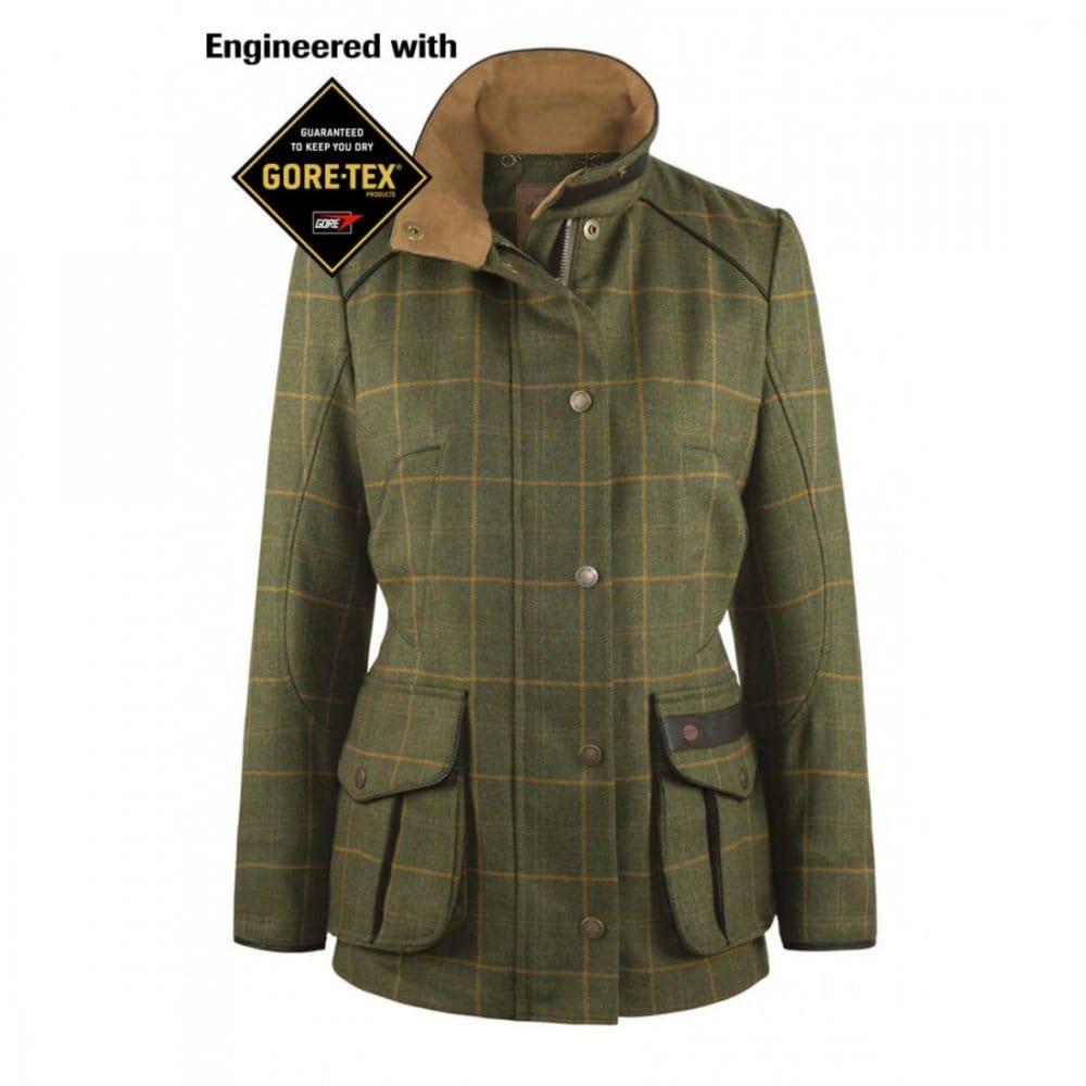 Ladies Tweed Coat   Down Coat