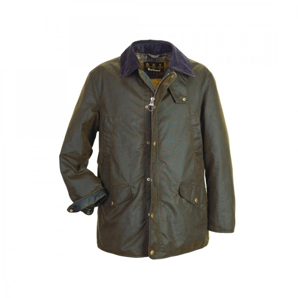 Barbour martindale wax jacket black