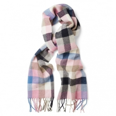 Multicheck Woven Ladies Scarf