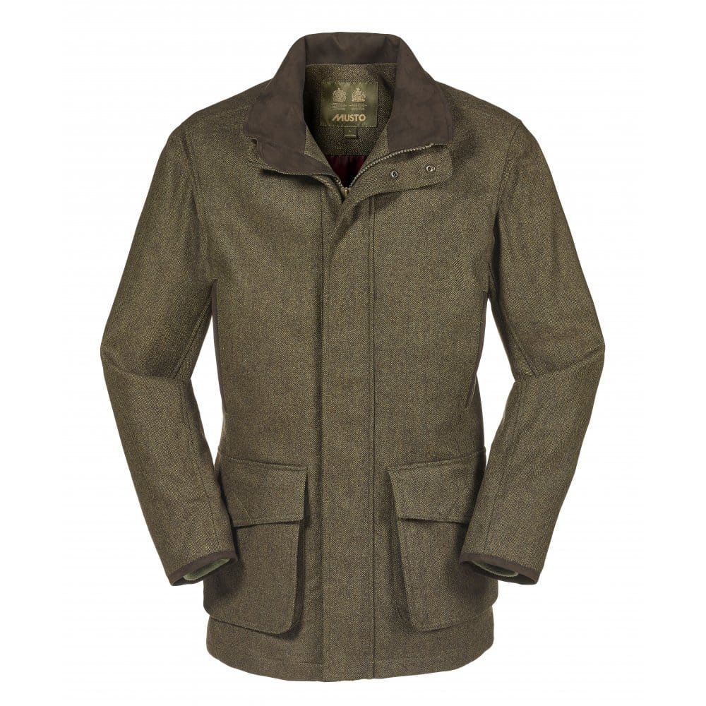 Musto Stretch Technical Mens Tweed Jacket - Mens from CHO ...