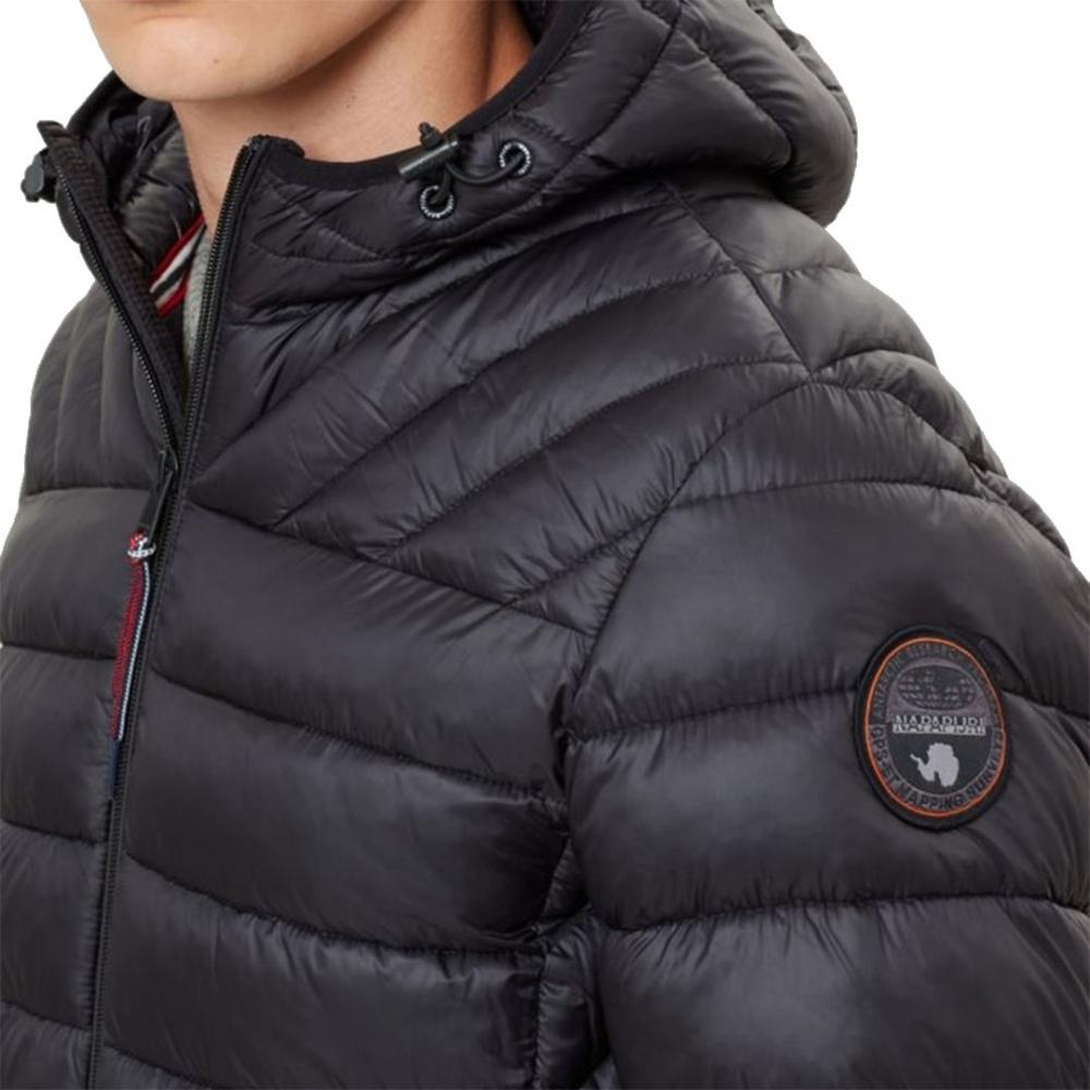 Napapijri Mens Aerons Hood Jacke Jacket