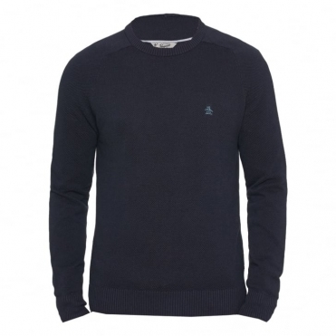 Original Penguin Honeycomb Pique Mens Crew