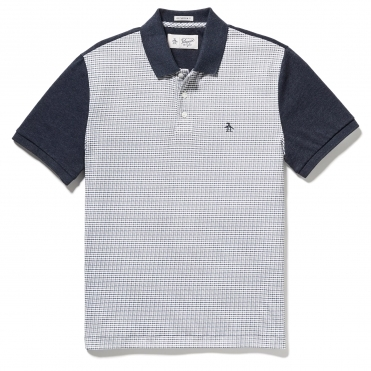 a7b5ab1d Original Penguin Short Sleeve Printed Front Mens Polo