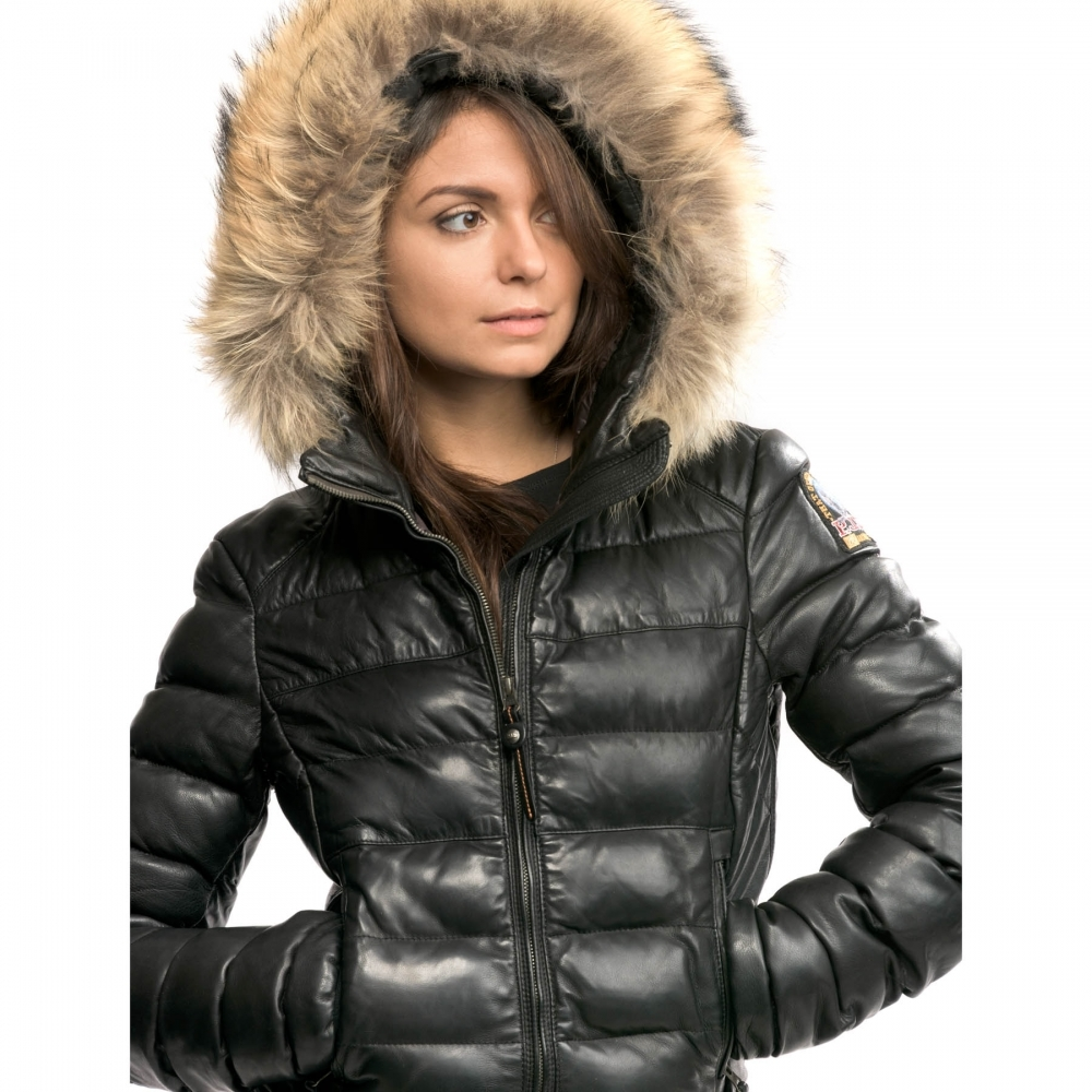 Parajumpers Demi Leather Womens Jacket - Womens from CHO Fashion and ... 893d011e5