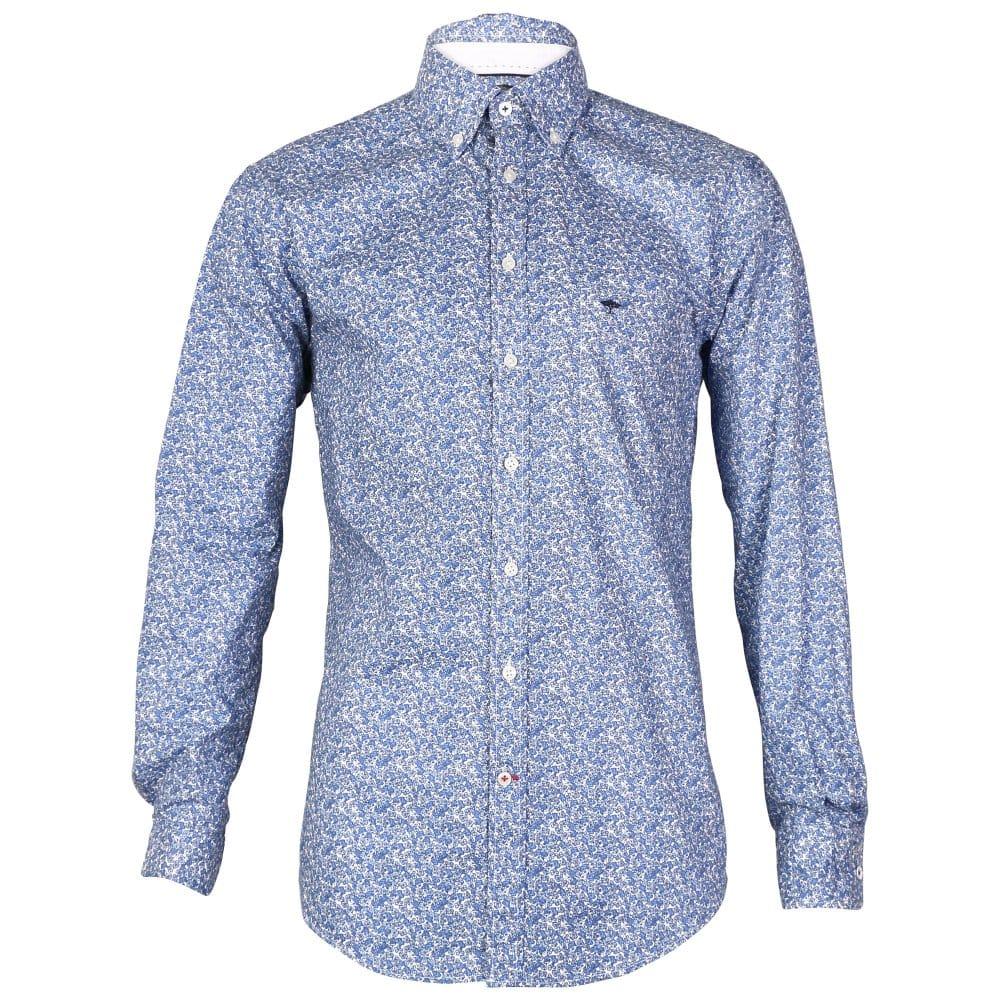 Fynch Hatton Mens Print Shirt