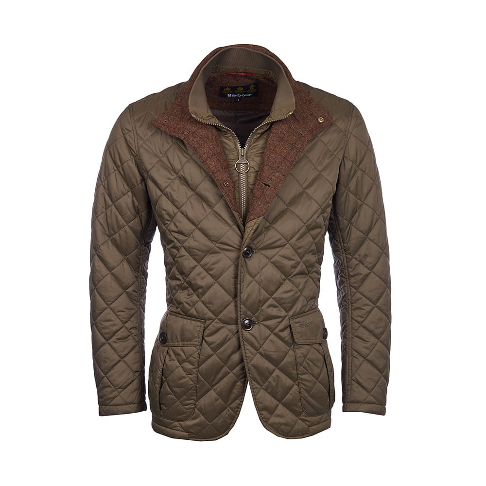 Quilted Blazers: Barbour Prior Mens Quilted Jacket