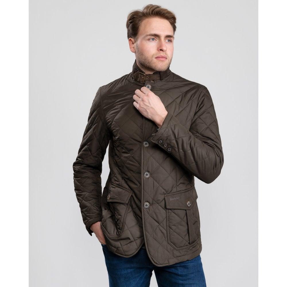 Barbour Quilted Lutz Mens Jacket - Mens from CHO Fashion and ... 22673dad7