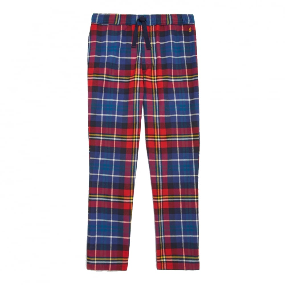 00b54e974b Joules Relaxwell Check Mens Lounge Trousers (V) - Mens from CHO ...