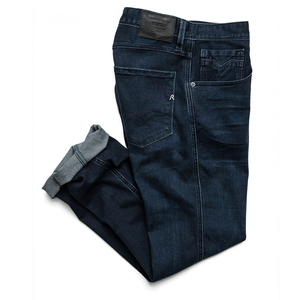 20f4bf07baf Replay Anbass Slim Fit Mens Jeans M914 .000.41A 603 - Mens from CHO ...